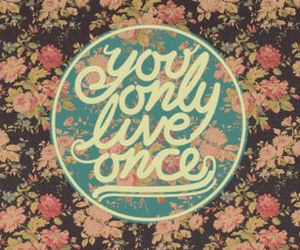 floral, girly, and phrase image