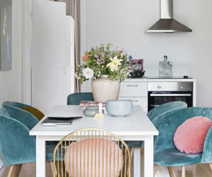 dining area, home decor, and interior decorating image