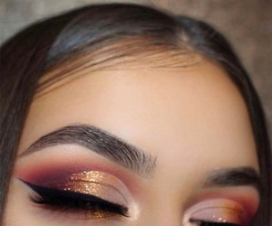 beauty, make up, and wow image