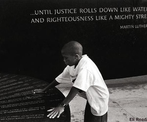 justice, 👑, and martin luther king image