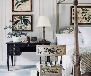 interior decorating, bedroom, and home decor image