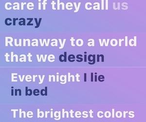 dreams, musical, and song lyrics image