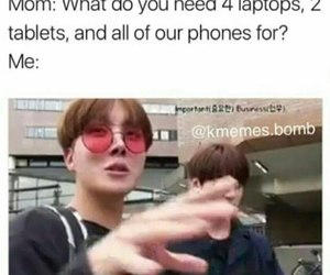 army, jin, and meme image