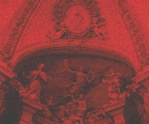 red, aesthetic, and art image