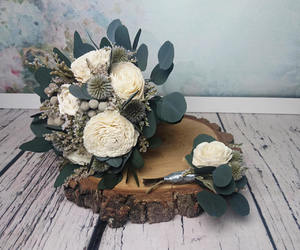 etsy, wedding bouquet, and bridesmaid bouquet image