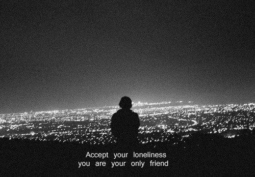 alone, sad, and soul image