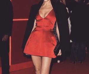 red carpet, irina shayk, and model image