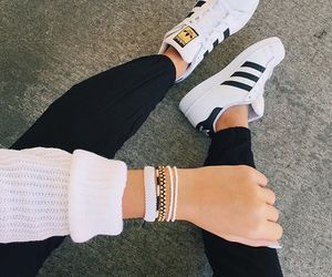 black, bracelet, and girl image