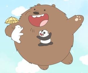 animal, comic, and ice bear image