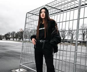 fashion, gloomy, and streetstyle image