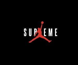 Basketball, jordan, and supreme image