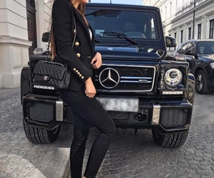 car, chic, and inspiration image