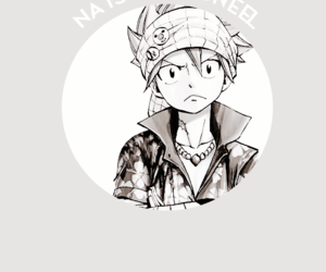 fairy tail, my edits, and natsu dragneel image