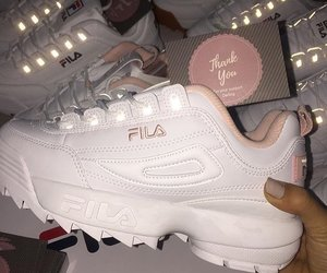 fashion, Fila, and girls image