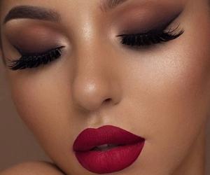 makeup and lips image