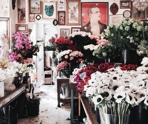 flowers, art, and theme image