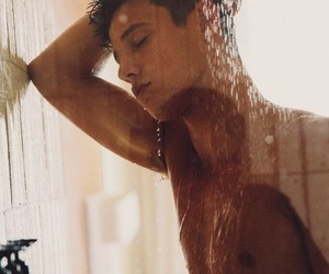 guys, hair, and shower image