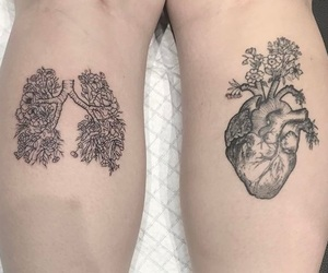lungs and tattoo image