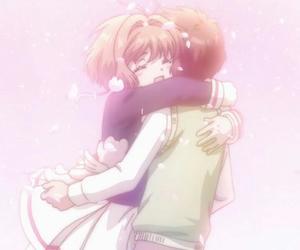 anime, syaoran, and sakura kinomoto image