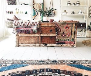 bohemian, decor, and bedroom image