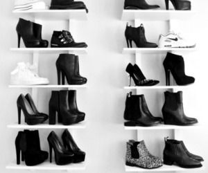 ankle boots, ootd, and black image