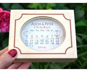 etsy, wedding ring box, and save the date image