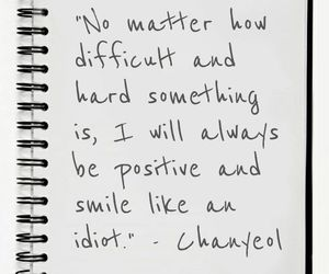 exo, chanyeol, and quotes image