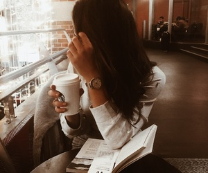amsterdam, book, and coffee image