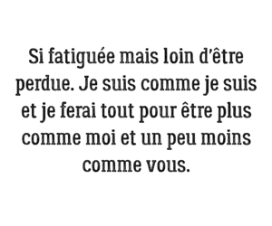 chanson, quote, and french quote image