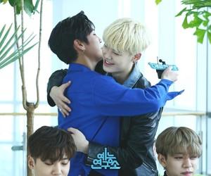 hug, bap, and himchan image
