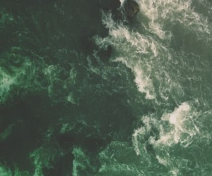 green, aesthetic, and ocean image