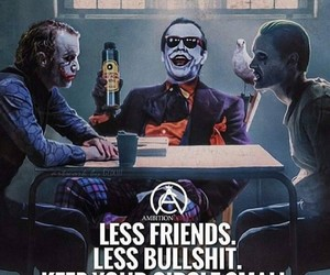 joker, quotes, and friends image