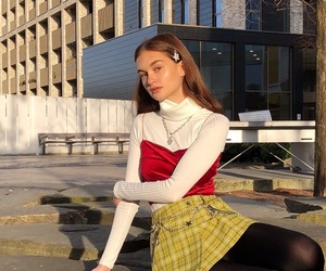 fashion, outfit, and aesthetic girl image