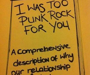 punk, Relationship, and rock image