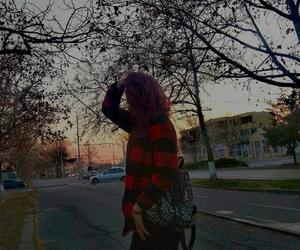 adventure, purple hair, and aesthetic image
