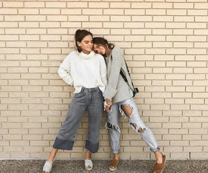 fashion, bff, and goals image