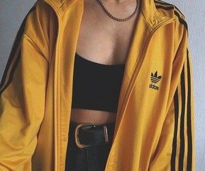 adidas, tumblr, and yellow image