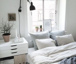 bed, boho, and interiors image