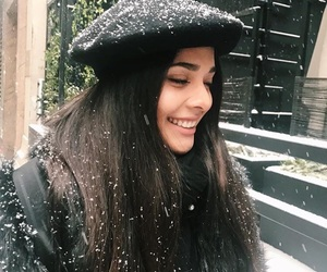 aesthetic, icons, and snow image