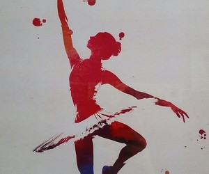 bailarina, baile, and ballerina image