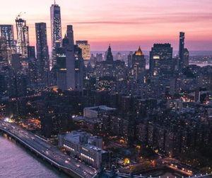 city, escape, and Dream image