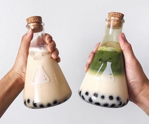 bubble tea, drinks, and inspiration image