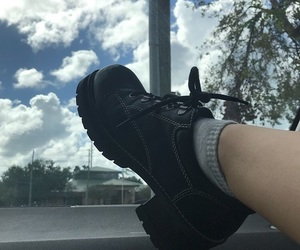 black, cloud, and fashion image