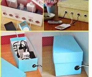 diy, box, and ideas image