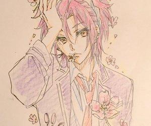 anime, pink, and boueibu image