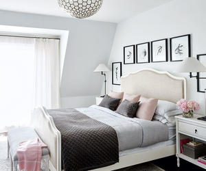 airy, bedroom, and decor image