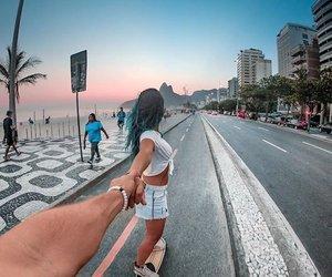 beach, boy, and brasil image
