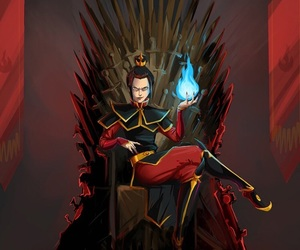 azula, avatar, and game of thrones image