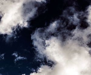 clouds, dark, and sky image