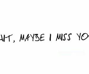 i miss you, layout, and Lyrics image